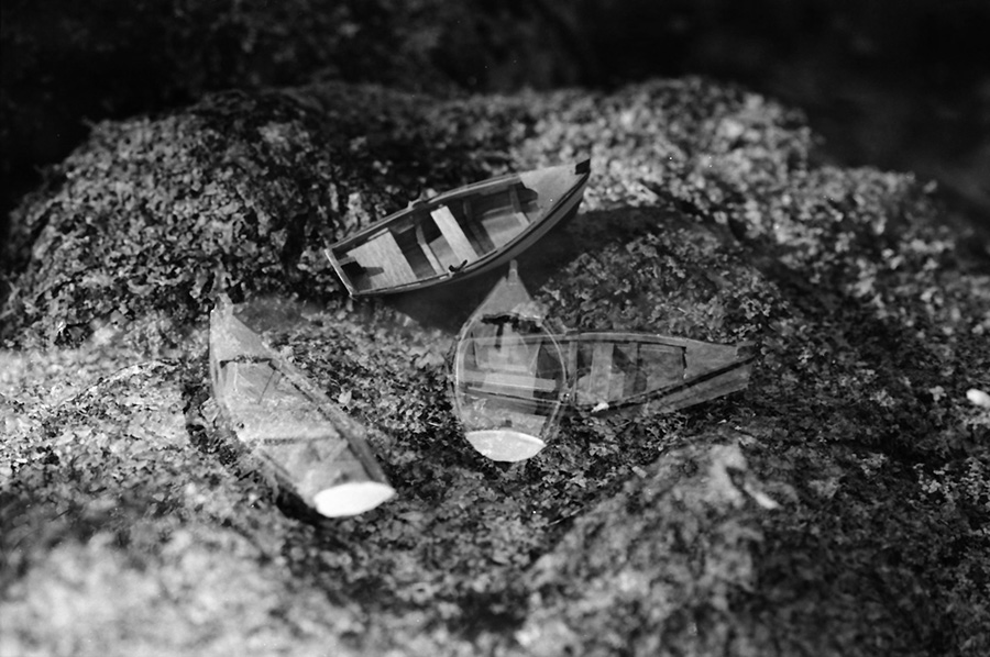 Landscape with Boats, 2004, C-print, 16 x 20 inches.